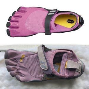 Vibram FiveFinger TrekSport Purple Gray Size 7 7.5